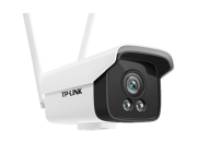 TP-LINK无线摄像头TL-525KCP,室外防水H.265全彩无线网络摄像机家用高清夜视安防监控