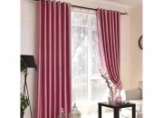 定制窗帘【戴克莱斯】缎面窗帘 X 2倍褶皱-800g-简约风客厅纯色窗帘