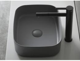 ins风台上盆【美百年】家用洗手池台盆面盆-卫生间卫浴方形洗脸盆-多色可选单台盆