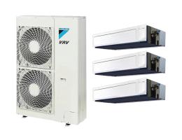 大金中央空调【PMX系列家用中央空调】一拖三-适用两室一厅-面积60平方